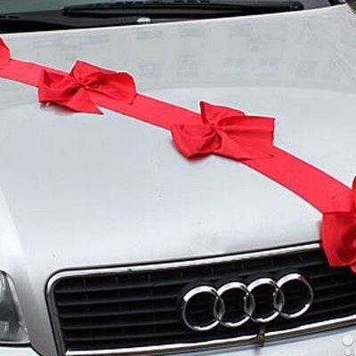 ленты диагонали на свадебные машины